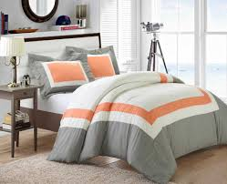 Gray And Turquoise Bedding Bedding Set Pebble Beach 7 Piece Comforter Sets Queen For Chic