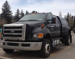 is this 2016 ford f 650 prototype diesel and cng spied truck