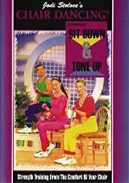 Chair Dancing Amazon Com Jodi Stolove U0027s Chair Dancing Sit Down U0026 Tone Up Jodi