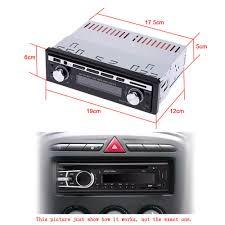 Usb Port For Car Dash Car Stereo Radio Audio Player Receiver In Dash Fm Aux Input Wma