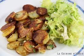cuisiner pommes de terre recette pommes de terre à la sarladaise la cuisine familiale un