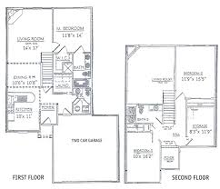 two bedroom house 3 bedroom house plans with garage and basement traditional style