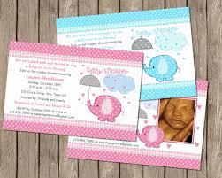 sale umbrellaphant elephant baby shower boy or