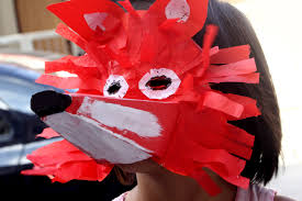how to make a mask for halloween how to make a fox mask with pictures wikihow