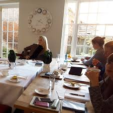review food writing course at all hallows farmhouse with
