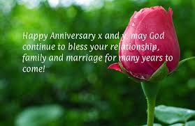 wedding quotes may your happy anniversary x and y may god continue to bless your