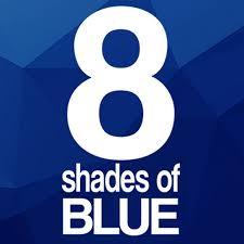 Blue Shades 8 Shades Of Blue Youtube