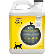 purina tidy cats clumping litter 4 in 1 strength for multiple