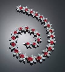 diamond necklace red images Most expensive diamond necklaces image and price jpg