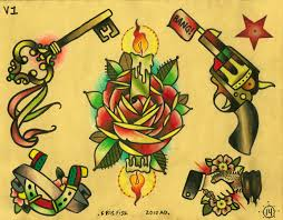 traditional american tattoos flash photos pictures and sketches