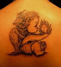 baby angel tattoos for women tattooic