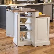 home styles kitchen islands two tier kitchen island and stools set in white and oak 5010 948