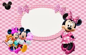 minnie mouse pink free printable invitations labels cards