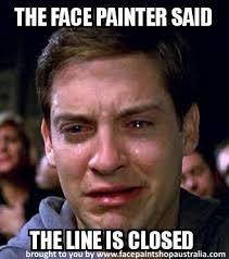Painter Meme - face painting memes just for fun face paint shop australia