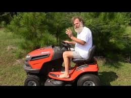 riding lawn mower review youtube