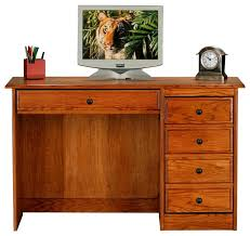 Oak Computer Desk With Hutch by Eagle Furniture Classic Oak Single Pedestal Computer Desk