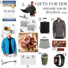 gift guide for dudes really cool curated collection sheshe show