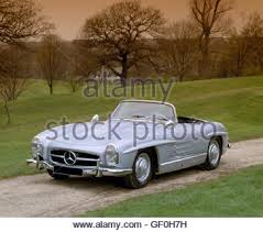 1957 mercedes 300sl roadster mercedes 300sl roadster 1957 to 1963 w198 stock photo