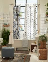 Matching Bathroom Shower And Window Curtains Best 25 Eclectic Shower Curtains Ideas On Pinterest Shower