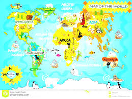 World Map For Kids Lake Travel But Red Is Moraine In The House Around World Maps For