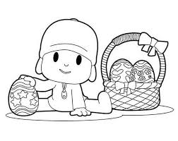 coloring pages marvelous pocoyo coloring pages basket