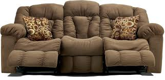 Fabric Recliner Sofa by Lybra Brown Fabric Reclining Sofa U2013 Plushemisphere