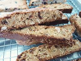 Mediterranean Kitchen Mastic Anise And Mastic Flavored Fig Biscotti With Walnuts Atelier