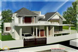 contemporary square feet home design with modern house design