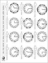 worksheets english time
