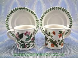 Portmeirion The Botanic Garden by Buy Portmeirion Botanic Garden Pair Of Espresso Cups U0026 Saucers