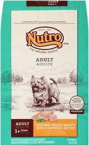 nutro natural choice chicken brown rice and oatmeal dry dog food