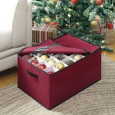 christmas ornament storage box christmas ornament storage box free shipping on orders 45