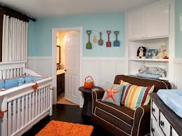 Nursery Room Decor Ideas Baby Nursery Baby Room Decorating Idea Using White Crib And Brown