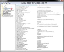 user rights assignment add or remove users and groups windows