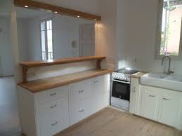 meuble cuisine a poser sur plan de travail charmant pose porte placard coulissante 12 meuble cuisine rideau