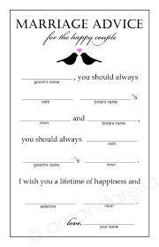 marriage advice cards for wedding 10 bridal shower and ideas eweddingfavors