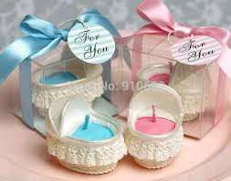 baby shower souvenirs aliexpress buy 10pcs baby bassinet candle for wedding party