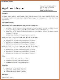 10 blank resume template pdf professional resume list