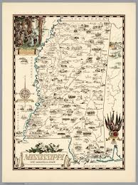 State Map Of Mississippi by Mississippi The Magnolia State David Rumsey Historical Map