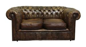 Square Chesterfield Sofa by Brown Chesterfield Couch U0026 Chair Olde Good Things