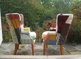 Fun Armchairs Cozy Patchwork Chairs Wingback Chairs Pinterest Patchwork