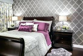 accent wall ideas bedroom master bedroom wallpaper accent wall bartarin site