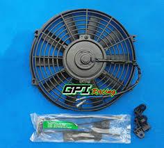 10 inch radiator fan new 10 inch 12v universal electric radiator racing fan