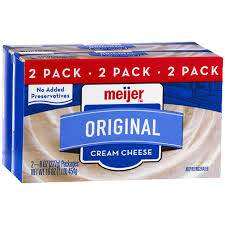 cream cheese meijer com