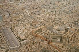 cool model of ancient rome pics