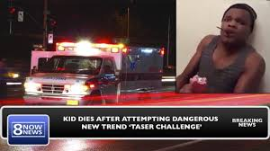 Challenge Dangerous Kid Dies After Attempting The Dangerous New Trend The Taser