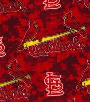 Upholstery Fabric St Louis St Louis Cardinals Mlb Patch Cotton Fabric Joann