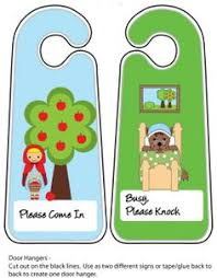 free printable bookmarks red riding hood printables