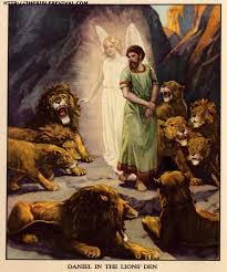 daniel in the lions u0027 den jpg 1623 1953 bible clip art