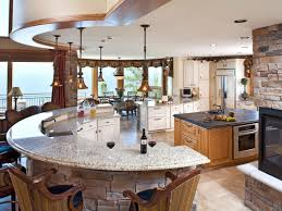 curved kitchen island 18 curved kitchen island designs ideas design trends premium